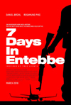 Poster for 7 Days in Entebbe (2018)
