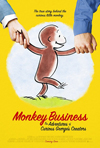 Poster for Monkey Business: The Adventures of Curious George's Creators