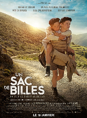 Poster for A Bag of Marbles / Un sac de billes