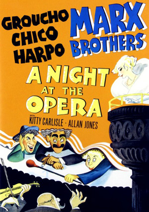 Poster for A Night at the Opera