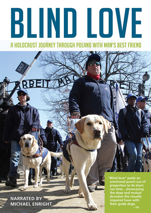 Poster for Blind Love: A Holocaust Journey Through Poland with Man's Best Friend