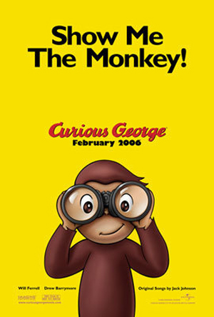 Poster for Curious George; Show Me the Monkey!
