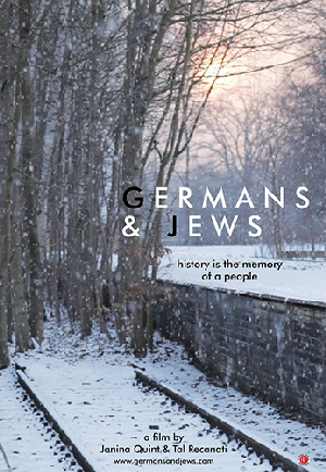 Poster for Germans & Jews