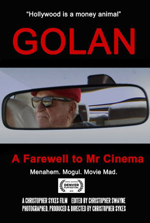 Poster for Golan: A Farewell to Mr. Cinema