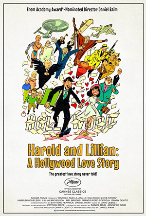 Poster for Harold and Lillian: A Hollywood Love Story