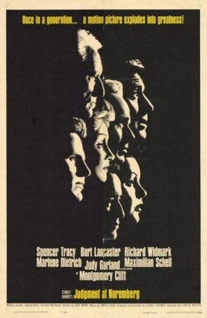 Poster for Judgment at Nuremberg