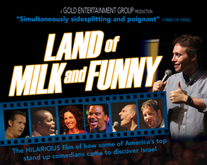 Poster for Land of Milk and Funny