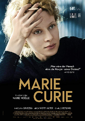 Poster for Marie Curie: The Courage of Knowledge