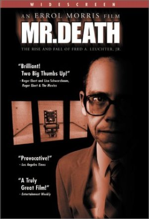 Poster for Mr. Death: The Rise and Fall of Fred A. Leuchter, Jr.