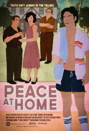 Poster for Peace at Home
