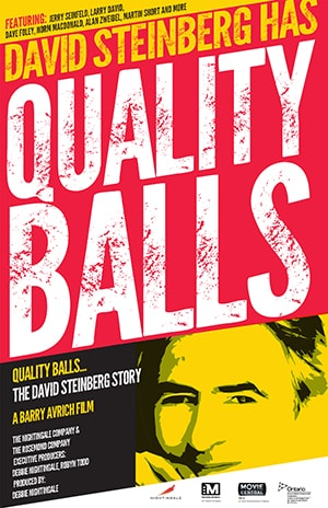 Poster for Quality Balls: The David Steinberg Story