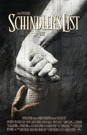 Poster for Schindler's List