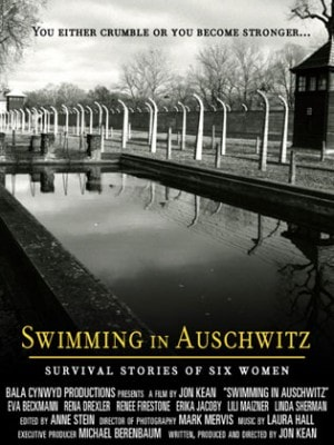 Poster for Swimming in Auschwitz