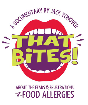 Poster for That Bites!: a Documentary About Food Allergies Made by a 12 year old Boy