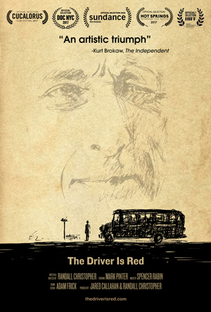 Poster for The Driver Is Red