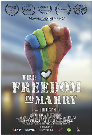 Poster for The Freedom to Marry