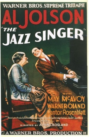 Poster for The Jazz Singer