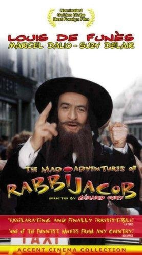 Poster for The Mad Adventures of 'Rabbi' Jacob