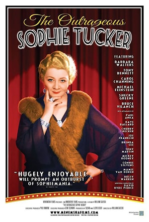 Poster for The Outrageous Sophie Tucker