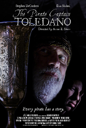 Poster for The Pirate Captain Toledano