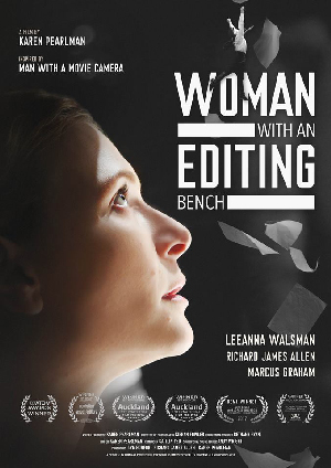 Poster for Woman with an Editing Bench