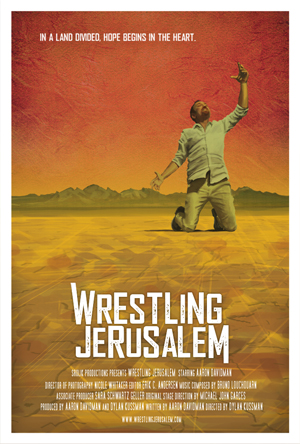 Poster for Wrestling Jerusalem